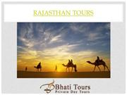 Rajasthan Tours or Rajasthan India Holiday Tour Packages