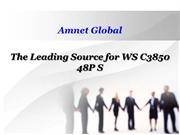 The Leading Source for WS C3850 48P S