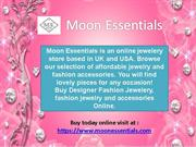 Online Jewellery Store Buy designer and Fashion Jewelry Moon Essential