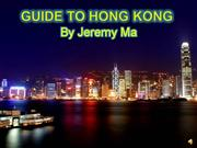 Jeremy's Guide to Hong Kong