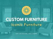 custom furniture mississauga | iconic furniture