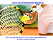 What is the best tennis injury prevention exercises