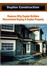 Reasons Why Duplex Builders Recommend Buying A Duplex Property
