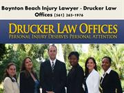 Boynton Beach Personal Injury Lawyer