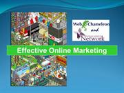 Effective Online Marketing