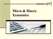 Micro & Macro Economics