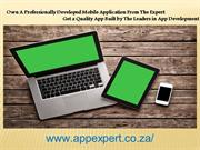 Own A Professionally Developed Mobile Application From The Expert