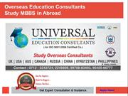 Study MBBS in Abroad | MBBS Admission Consultants India