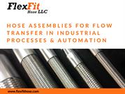Best Industrial Hoses and Fitting Products - FlexFit Hose LLC