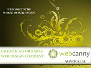 Cheap And Affordable Website Design Company in Australia