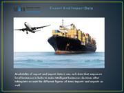 Empowers Your Local Businesses With Export and Import Data