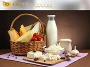 Fresh Dairy Products and Bread
