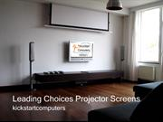 Screen Technics Music, Visual Projector Screen