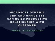 Microsoft Dynamic CRM and Office 365