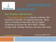 Digital Signature Providers and dealers in Chennai