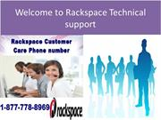 Live Chat Support Now 1-877-778-8969 ... – Rackspace Support