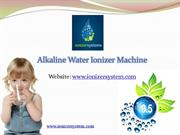 Alkaline Water Ionizer machine In India