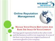 Manage Your Online Reputation And Improve The Image Of Your Company