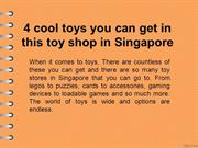 4 cool toys you can get in this toy shop in Singapore