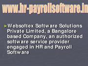 Biometric System Software, PF Software, ESI Software, HR Software, Pay