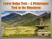 Lower Dolpo Trek – A Picturesque Trek in the Himalayas