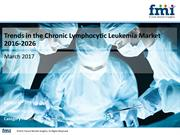 Chronic Lymphocytic Leukemia Market Value Chain and Forecast 2016-2026