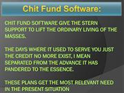Chit Fund Activities, Chit Funds Understanding, Chit Fund Software Hig