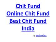 Chit fund Companies - Chit fund Account - Chit Calculator - Chit fund