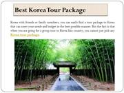Best Korea Tour Package