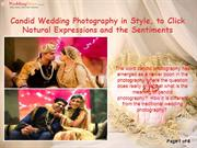 Candid Wedding Photography in Style