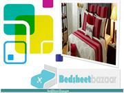 Bed Sheets Online: Buy Bed Sheets, cotton , Bed sheet set in India.