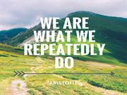 What are what we repeatedly do - personal development courses