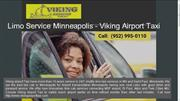 Limo service minneapolis MN | Airport Service - Viking Airport Taxi