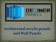 Architectual acrylic panels and Wall Panels