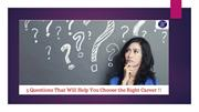 5 Questions That Will Help You Choose the Right Career !!
