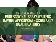 Professional Essay Writer Service
