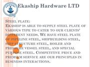 Steel Plate - pipeline steel, shipbuilding steel, ship structure steel