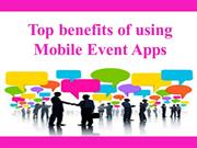 Mobile Event Application - Easier Way to engage your attendees