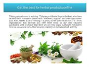 Get the best for herbal products online