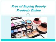 Advantages of Buying Beauty Products Online