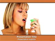 Asthma Powerpoint Template