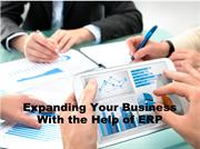 Expanding Your Business With the Help of ERP