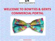 Self Bow Ties for men and boys in UAE