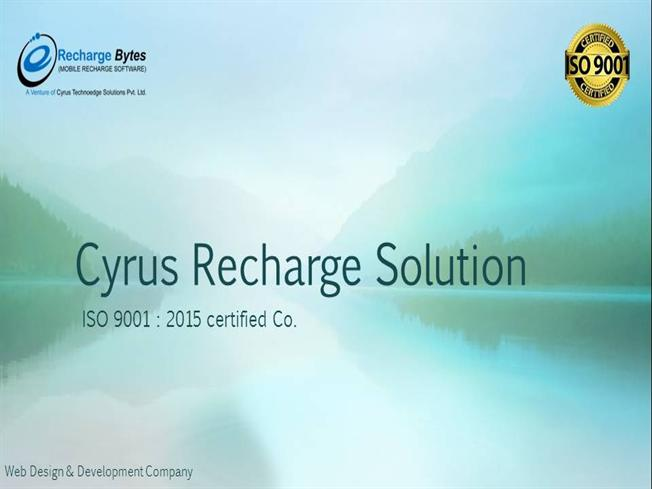 Cyrus Recharge Solution - Mobile Recharge API Software |authorSTREAM