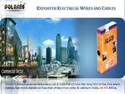 Exporter Electrical Wires and Cables