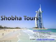 Travel Agents in Udaipur - shobha tour