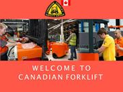 Forklift training and