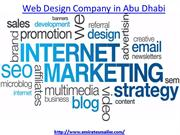 How to get web design company in Abu Dhabi