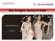 Buy Online Designer Sarees at Pocket Friendly Price