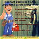 Important Questions To Ask Locksmiths Before Hiring Them